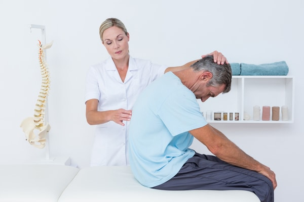 With chiropractic experts, we can help with back pain.